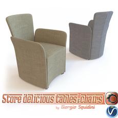 Chair NIDO CALLIGARIS 3D Model