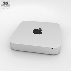 Apple Mac mini 2014 3D Model