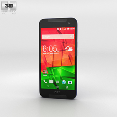 HTC Butterfly 2 Blue 3D Model