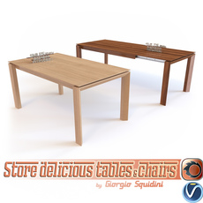 Table OMNIA CALLIGARIS 3D Model