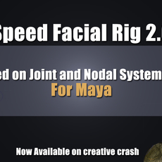 Speed Facial Rig: Full version for Maya 2.0.2 (maya script)