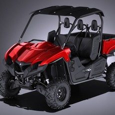 Yamaha Viking 2017 3D Model