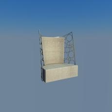 Armchair modern 3D Model
