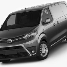 Toyota Proace Van 2016 3D Model