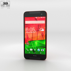HTC Butterfly 2 Red 3D Model