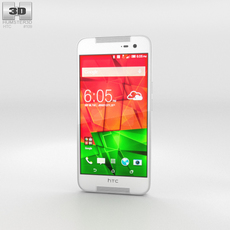 HTC Butterfly 2 White 3D Model