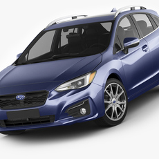 Subaru Impreza 5-door 2017 3D Model