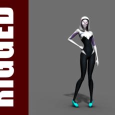 Spider-Gwen (Rig) for Maya 1.0.2