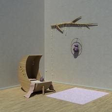 Kids room 3D Model