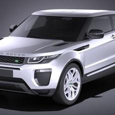 Range Rover Evoque 3-door 2017 3D Model