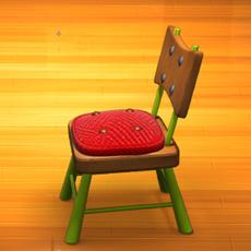 Chair Cartoon 3D Model