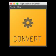 Rig Export Converter for Maya 1.0.3 (maya script)