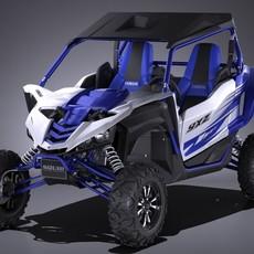 Yamaha YXZ 1000R SS 2017 3D Model