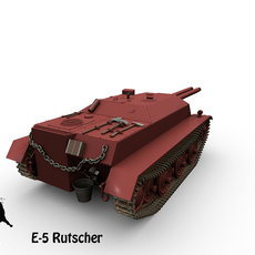 E-5 Rutscher 3D Model