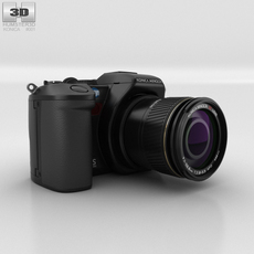 Konica Minolta DiMAGE A200 3D Model