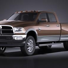 Dodge Ram Heavy Duty 2014 VRAY 3D Model