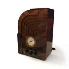 Zenith 812 Radio 3D Model