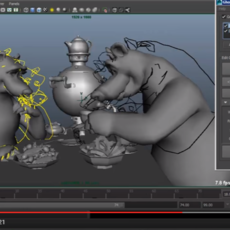 Ghost Animation Tool for Maya 1.0.0 (maya script)