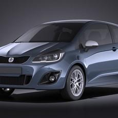 Generic Hatchback 2016 VRAY 3D Model