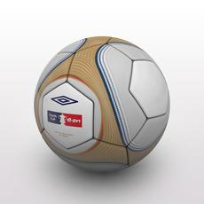 FA Cup Ball 2009 - Gold 3D Model