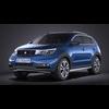 Generic SUV v1 2016 VRAY 3D Model
