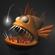 Cartoon Anglerfish RIGGED 3D Model