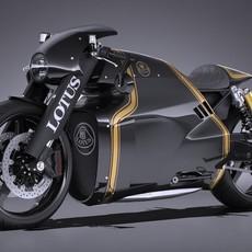 Lotus C-01 2017 3D Model