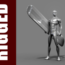 Silver Surfer (Rig) for Maya 1.0.1