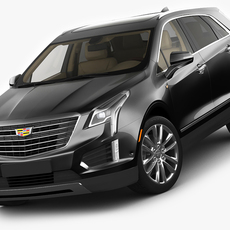 Cadillac XT5 2017 3D Model