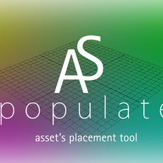 AS_Populate for Maya 0.7.0 (maya script)