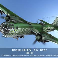 Heinkel He-177 - Greif - F8FH 3D Model