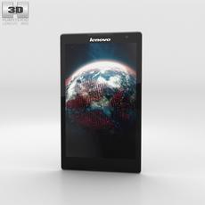 Lenovo Tab S8 Ebony 3D Model
