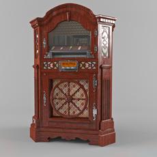 jukebox wurlitzer 780 3D Model