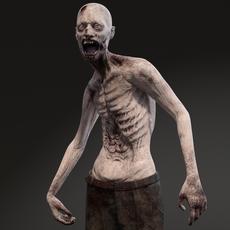Zombie 3D Model