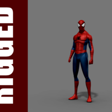 Spider-Man (Rig) for Maya 2.0.1