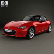 Mazda MX-5 2015 3D Model