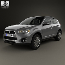 Mitsubishi ASX (RVR) 2013 3D Model