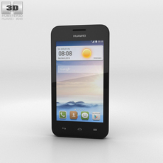 Huawei Ascend Y330 Black 3D Model
