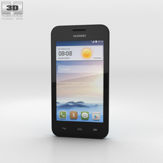 Huawei Ascend Y330 Blue 3D Model