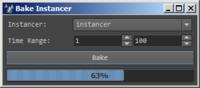 Bake Instancer for Maya 0.7.0 (maya script)