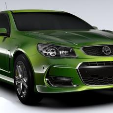 Holden Commodore SS Sportwagon VF Series II 2016 3D Model