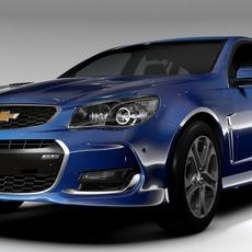 Chevrolet SS 2017 Tourer 3D Model