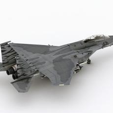 McDonnell Douglas F-15 B Eagle 3D Model