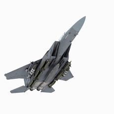 McDonnell Douglas F-15 S Strike Eagle 3D Model