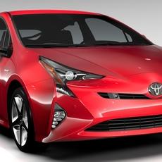 Toyota Prius 2016 3D Model