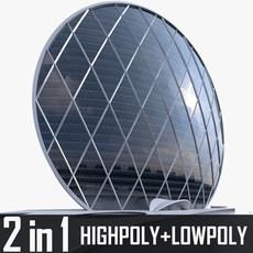 Aldar Headquarters Skyscraper 3D Model
