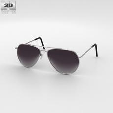 Police Sunglasses 3D Model