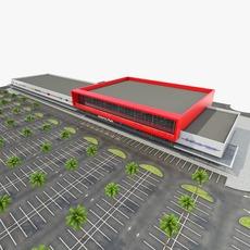 Shopping Mall 002 3D Model