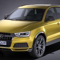 Audi Q3 2017 3D Model