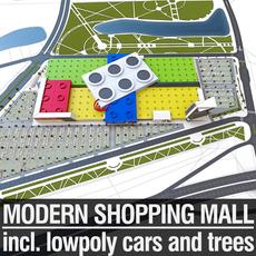 Shopping Mall 06 3D Model
